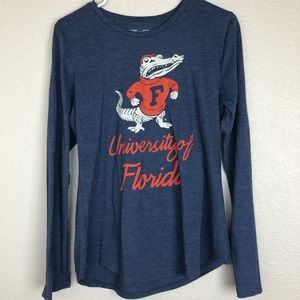 Tops - University of Florida gators vintage inspired tee